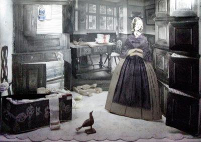 La religion de l'armoire à linge © musée A. Forel